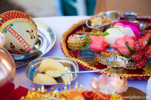 Indian wedding ceremonial items traditional