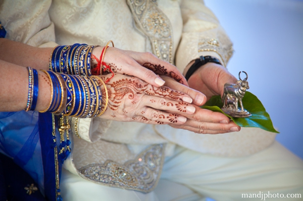 Indian wedding ceremony bangles