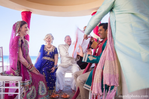 Indian wedding ceremony bride groom