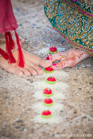 Indian wedding couple traditions ceremony