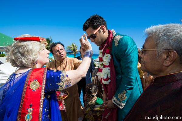 Indian wedding groom baraat celebration