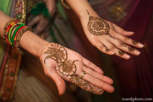 Indian wedding henna hands traditional mehndi