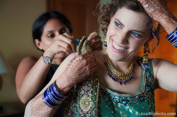Indian wedding mehndi night party fusion