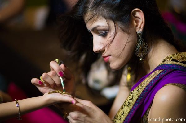 Indian wedding mehndi night party photos