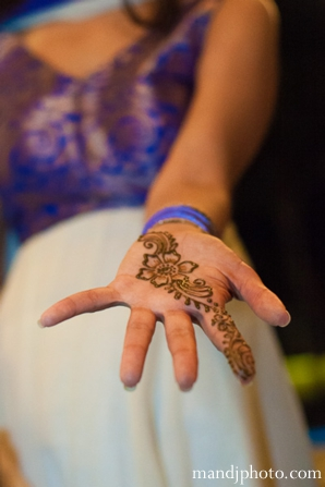 Indian wedding mehndi party henna
