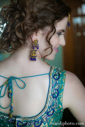 Indian wedding traditional bridal portrait