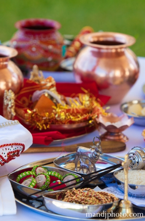 Indian wedding traditional ceremonial items