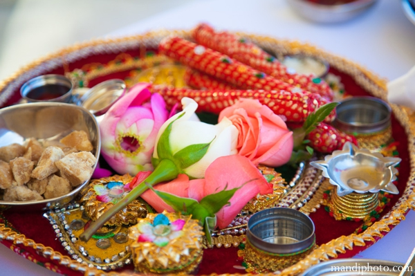 Indian wedding traditional ceremony items