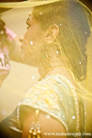 Pakistani bridal fashion in Chicago, Illinois Pakistani Wedding by Maha Designs