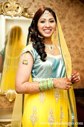 Pakistani bridal fashions in Chicago, Illinois Pakistani Wedding by Maha Designs