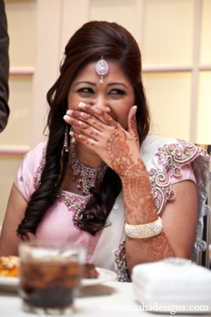 Pakistani bridal mehndi in Chicago, Illinois Pakistani Wedding by Maha Designs
