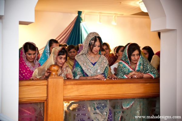 Pakistani bride ceremony in Chicago, Illinois Pakistani Wedding by Maha Designs