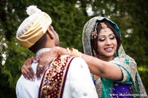 Pakistani bride groom pictures in Chicago, Illinois Pakistani Wedding by Maha Designs
