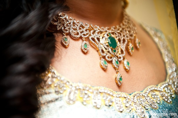 Pakistani bride jewelry in Chicago, Illinois Pakistani Wedding by Maha Designs