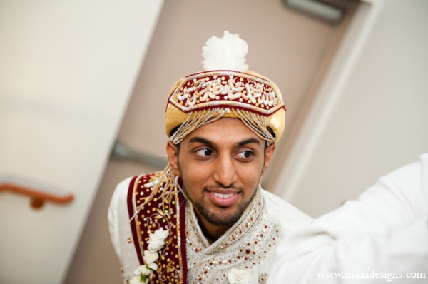 Pakistani groom ceremony in Chicago, Illinois Pakistani Wedding by Maha Designs