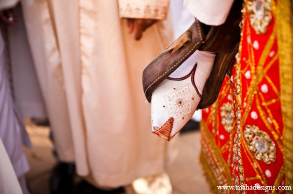 Pakistani groom tradition in Chicago, Illinois Pakistani Wedding by Maha Designs