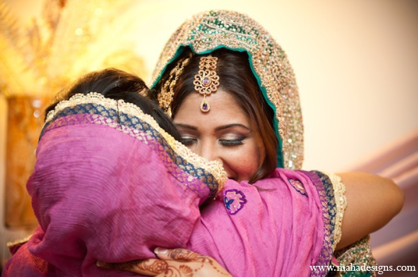 Pakistani indian wedding mother bride in Chicago, Illinois Pakistani Wedding by Maha Designs