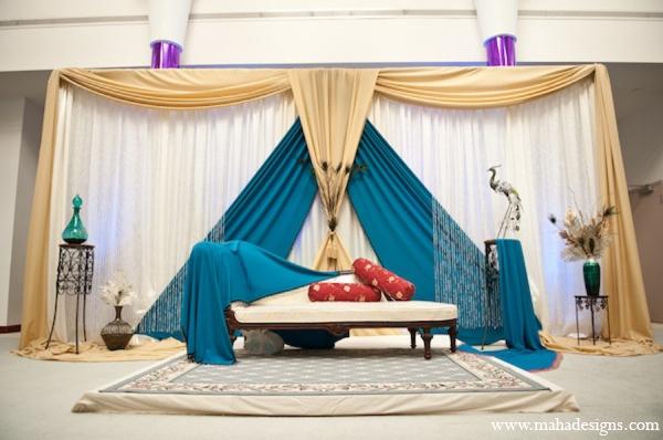 Pakistani nikkah ceremony in Chicago, Illinois Pakistani Wedding by Maha Designs