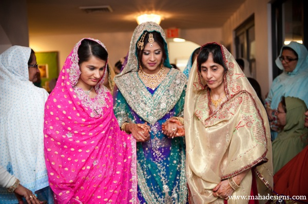 Pakistani traditional wedding in Chicago, Illinois Pakistani Wedding by Maha Designs