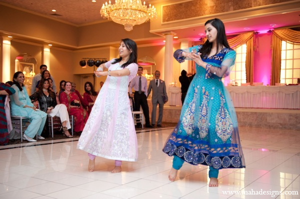 Pakistani wedding dancers in Chicago, Illinois Pakistani Wedding by Maha Designs