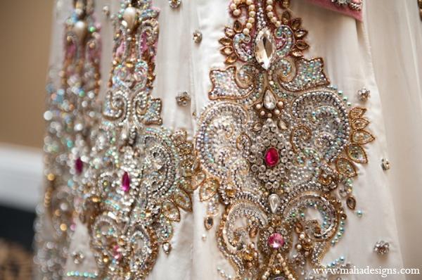 Pakistani wedding fashion in Chicago, Illinois Pakistani Wedding by Maha Designs