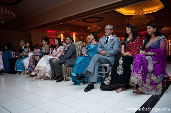 Pakistani wedding reception traditions in Chicago, Illinois Pakistani Wedding by Maha Designs