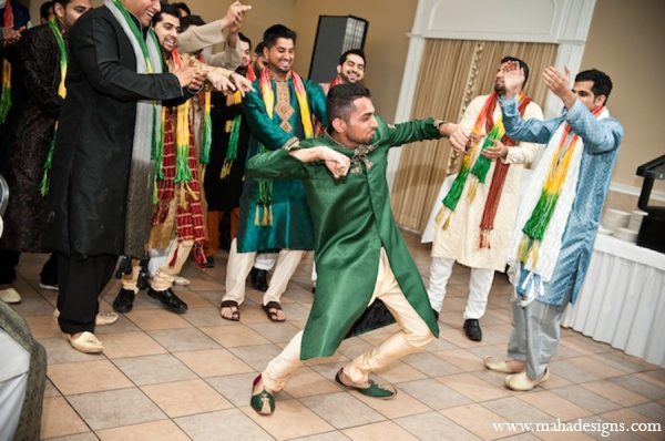 gold,green,traditional pakistani wedding,pakistani wedding traditions,Maha Designs