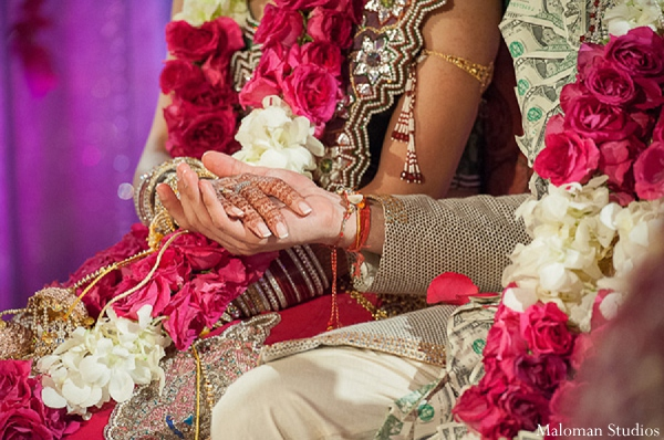 Indian wedding ceremony custom tradition in New York, New York Indian Wedding by Maloman Studios