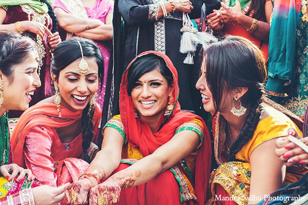 Indian wedding maiya ceremony bride in Seattle, Washington Indian Wedding by Mandev Sidhu Photography