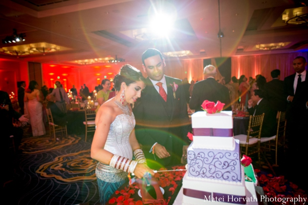 Indian wedding cake in Dana Point, California Indian Wedding by Matei Horvath Photography