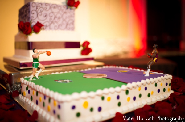 Indian wedding cakes in Dana Point, California Indian Wedding by Matei Horvath Photography