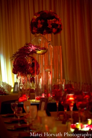 red,gold,Floral & Decor,Lighting,Photography,ideas for indian wedding reception,indian wedding decoration ideas,indian wedding ideas,Matei Horvath Photography