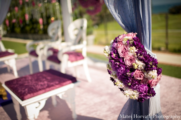Indian wedding ceremony design in Dana Point, California Indian Wedding by Matei Horvath Photography