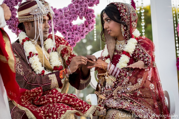 red,purple,gold,white,ceremony,mandap,traditional indian wedding,indian wedding traditions,Matei Horvath Photography