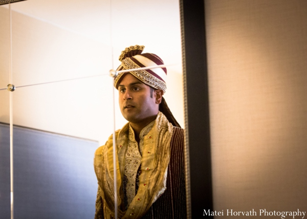 Indian wedding groom  in Dana Point, California Indian Wedding by Matei Horvath Photography