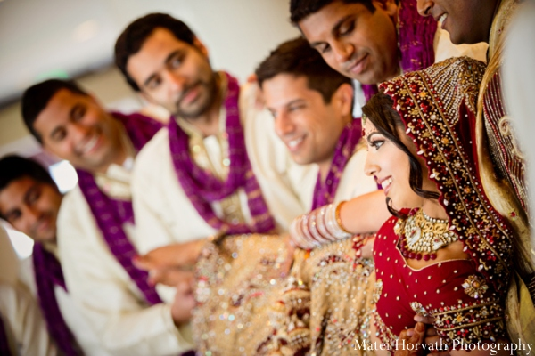 Indian wedding groomsmen in Dana Point, California Indian Wedding by Matei Horvath Photography