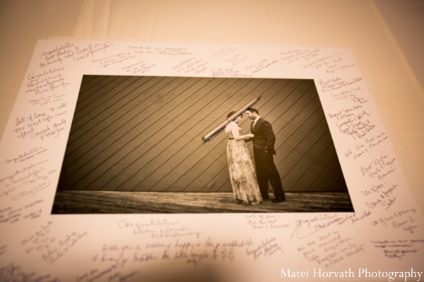 Indian wedding guestbook ideas in Dana Point, California Indian Wedding by Matei Horvath Photography