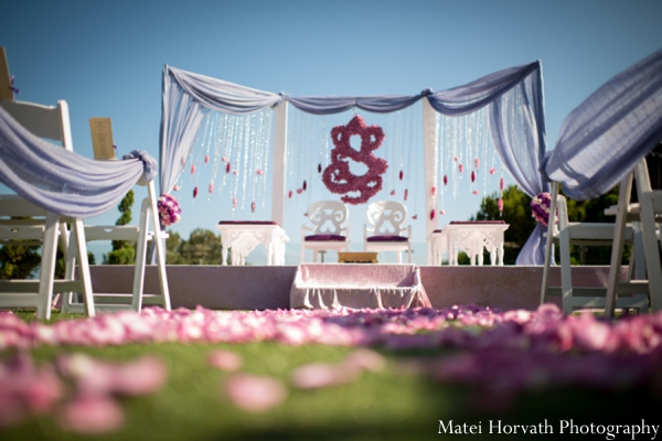 Indian Wedding Outdoor Mandap Photo 8573