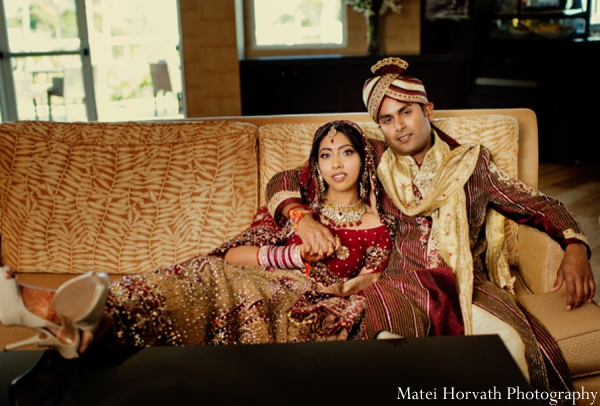 Featured Indian Weddings,red,gold,cream,white,bridal fashions,portraits,indian bride and groom,indian bride groom,photos of brides and grooms,images of brides and grooms,indian bride grooms,indian wedding outfits,indian wedding outfits for brides,Matei Horvath Photography