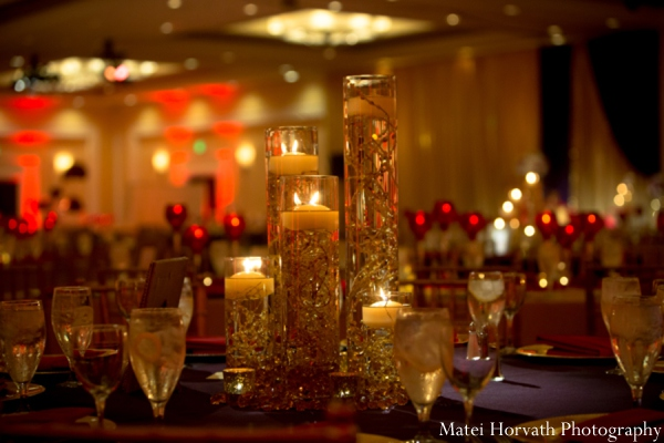 Indian wedding reception lighting in Dana Point, California Indian Wedding by Matei Horvath Photography