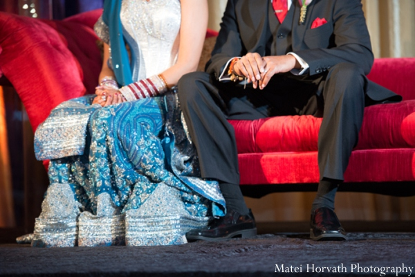 Indian wedding reception outfits in Dana Point, California Indian Wedding by Matei Horvath Photography