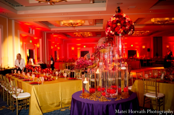 red,gold,Floral & Decor,Planning & Design,ideas for indian wedding reception,indian wedding decoration ideas,indian wedding ideas,Matei Horvath Photography