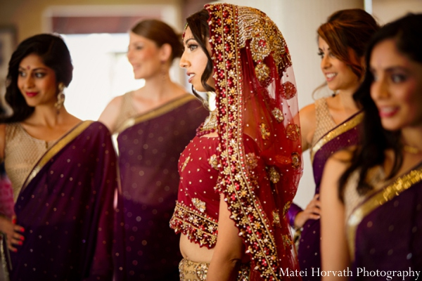Indian wedding traditional bride in Dana Point, California Indian Wedding by Matei Horvath Photography