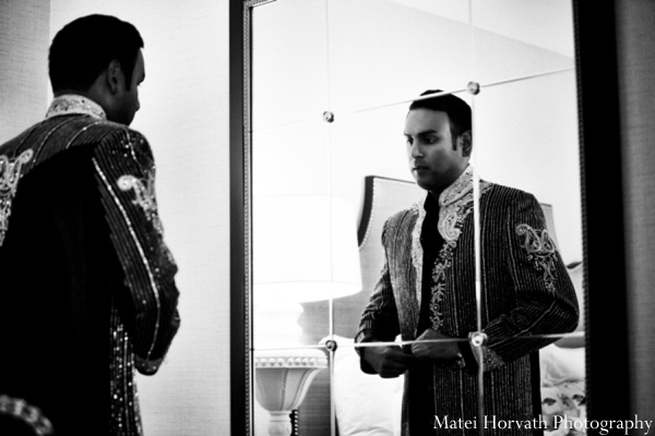 Traditional indian groom in Dana Point, California Indian Wedding by Matei Horvath Photography