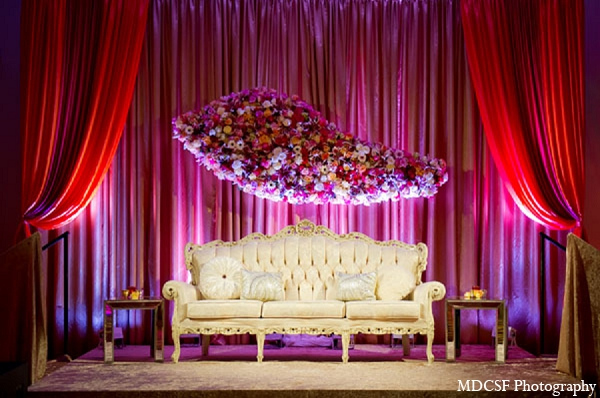 Indian Wedding Reception Stage Fl Piece Decor