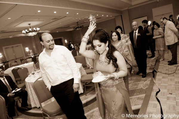 Indian wedding dancing reception in Bridgewater, New Jersey Indian Wedding by Memories Photography