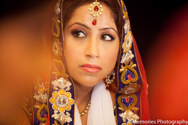 Indian wedding bridal makeup look in Goa, India Indian Wedding by Memories Photography