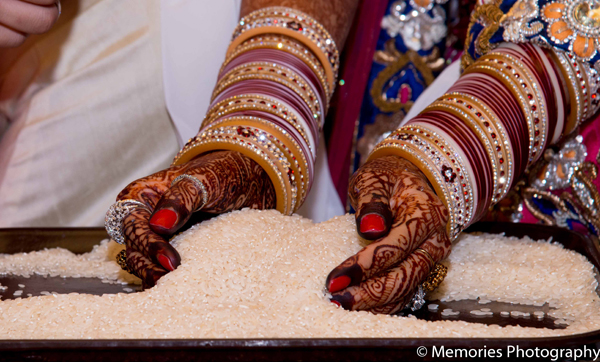 Indian wedding bridal mehndi bangles in Goa, India Indian Wedding by Memories Photography