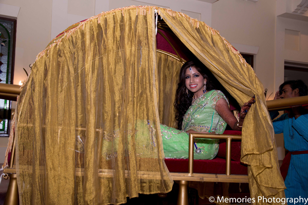 Indian wedding bride doli sangeet in Goa, India Indian Wedding by Memories Photography