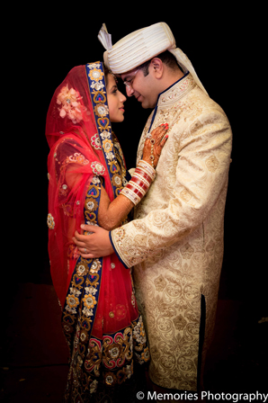 Indian wedding bride groom fashion in Goa, India Indian Wedding by Memories Photography
